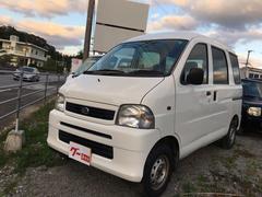 沖縄の中古車 ダイハツ ハイゼットカーゴ 車両価格 ASK リ済込 平成16年 8.2万K ホワイト