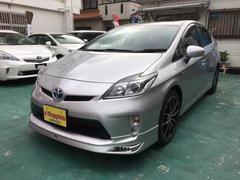 沖縄の中古車 トヨタ プリウス 車両価格 109万円 リ済込 平成24年 8.0万K シルバーM