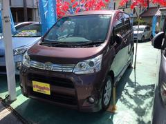 沖縄の中古車 ダイハツ ムーヴ 車両価格 49万円 リ済込 平成23年 11.5万K パープルM