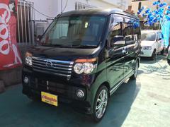沖縄の中古車 ダイハツ アトレーワゴン 車両価格 69万円 リ済込 平成21年 10.8万K ブラックM