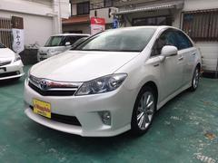 沖縄の中古車 トヨタ SAI 車両価格 104万円 リ済込 平成22年 9.0万K パールホワイト