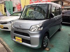 沖縄の中古車 ダイハツ タント 車両価格 79万円 リ済込 平成26年 7.3万K シルバーM