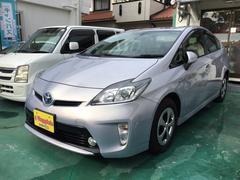 沖縄の中古車 トヨタ プリウス 車両価格 109万円 リ済込 平成24年 7.3万K ライトパープルM