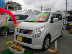 沖縄の中古車 スズキ ワゴンR 車両価格 69万円 リ済込 平成24年 1.1万K パール
