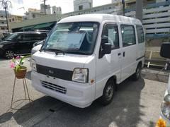 沖縄の中古車 スバル サンバーバン 車両価格 43万円 リ済込 平成20年 8.0万K ホワイト