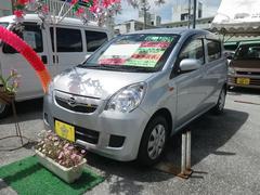 沖縄の中古車 ダイハツ ミラ 車両価格 47万円 リ済込 平成23年 6.7万K シルバー