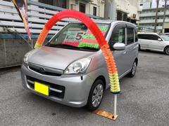 沖縄の中古車 スバル ステラ 車両価格 49万円 リ済込 平成22年 6.9万K シルバー