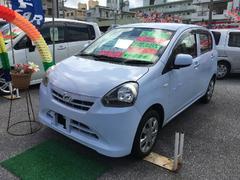 沖縄の中古車 ダイハツ ミライース 車両価格 57万円 リ済込 平成24年 2.8万K ライトブルー