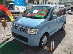 沖縄の中古車 日産 オッティ 車両価格 43万円 リ済込 平成20年 5.9万K ライトブルー