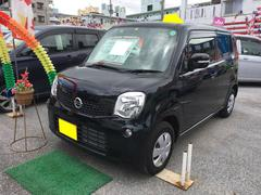 沖縄の中古車 日産 モコ 車両価格 73万円 リ済込 平成25年 2.9万K ブラック