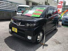 沖縄の中古車 ホンダ ゼストスパーク 車両価格 73万円 リ済込 平成24年 3.1万K ブラック