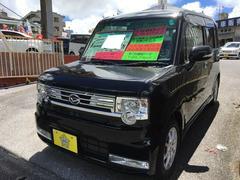 沖縄の中古車 ダイハツ ムーヴコンテ 車両価格 77万円 リ済込 平成25年 6.0万K ブラック