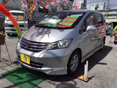 沖縄の中古車 ホンダ フリード 車両価格 63万円 リ済込 平成20年 6.0万K シルバー