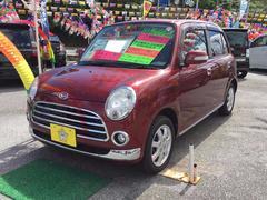 沖縄の中古車 ダイハツ ミラジーノ 車両価格 43万円 リ済込 平成20年 7.0万K ワイン