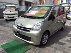 沖縄の中古車 ダイハツ ムーヴ 車両価格 61万円 リ済込 平成23年 6.5万K シャンパンゴールドM