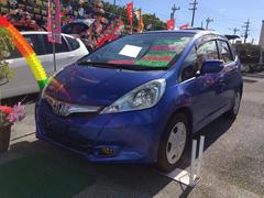 沖縄の中古車 ホンダ フィットハイブリッド 車両価格 39万円 リ済込 平成22年 16.9万K ブルーM