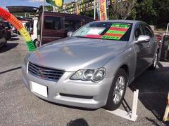 沖縄の中古車 トヨタ マークX 車両価格 27万円 リ済込 平成19年 15.6万K シルバー
