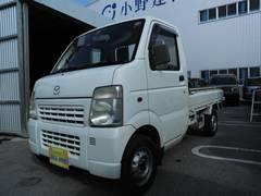 沖縄の中古車 マツダ スクラムトラック 車両価格 34万円 リ済込 平成15年 9.1万K ホワイト