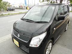 沖縄の中古車 スズキ ワゴンR 車両価格 43万円 リ済込 平成20年 12.6万K ブラックM