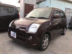 沖縄の中古車 日産 ピノ 車両価格 35万円 リ済込 平成21年 9.3万K ブラウンM