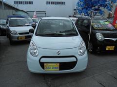 沖縄の中古車 スズキ アルトエコ 車両価格 34万円 リ済込 平成24年 11.1万K ライトブルー