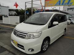 沖縄の中古車 日産 セレナ 車両価格 63万円 リ済込 平成20年 9.9万K パールII