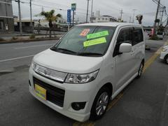 沖縄の中古車 スズキ ワゴンRスティングレー 車両価格 58万円 リ済込 平成21年 7.9万K パールIII