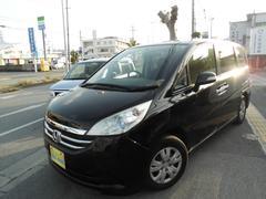 沖縄の中古車 ホンダ ステップワゴン 車両価格 57万円 リ済込 平成20年 10.9万K DブラックM