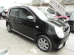 沖縄の中古車 ダイハツ ミラアヴィ 車両価格 17万円 リ未 平成16年 9.9万K DブラックII