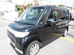 沖縄の中古車 ダイハツ タント 車両価格 59万円 リ済込 平成22年 6.7万K ダークブルーM