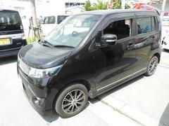 沖縄の中古車 スズキ ワゴンRスティングレー 車両価格 67万円 リ済込 平成23年 6.5万K ダークパープル