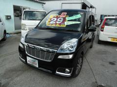 沖縄の中古車 スバル ステラ 車両価格 29万円 リ済込 平成20年 11.3万K DブラックII