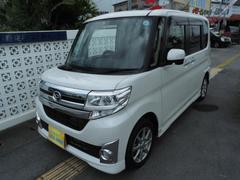 沖縄の中古車 ダイハツ タント 車両価格 113万円 リ済込 平成26年 1.5万K パールM