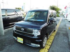 沖縄の中古車 ダイハツ ムーヴコンテ 車両価格 33万円 リ済込 平成23年 14.5万K ダークブルーM