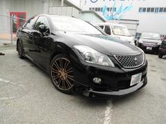 沖縄の中古車 トヨタ クラウン 車両価格 136万円 リ済込 平成20年 9.6万K ブラック