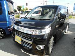 沖縄の中古車 スズキ ワゴンRスティングレー 車両価格 41万円 リ済込 平成22年 11.9万K ブラックII