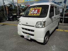沖縄の中古車 ダイハツ ハイゼットカーゴ 車両価格 19万円 リ済込 平成19年 14.3万K ホワイトII