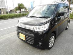 沖縄の中古車 スズキ ワゴンRスティングレー 車両価格 69万円 リ済込 平成25年 9.1万K ブラックII