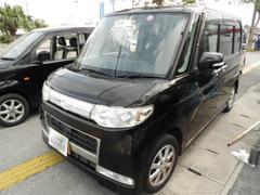 沖縄の中古車 ダイハツ タント 車両価格 54万円 リ済込 平成20年 9.3万K ブラックII