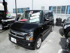 沖縄の中古車 スズキ ワゴンR 車両価格 18万円 リ済込 平成18年 13.5万K ブラックII