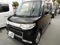 沖縄の中古車 ダイハツ タント 車両価格 49万円 リ済込 平成20年 8.9万K ブラックII