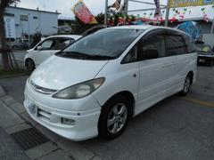 沖縄の中古車 トヨタ エスティマL 車両価格 19万円 リ済込 平成13年 8.0万K パールホワイト