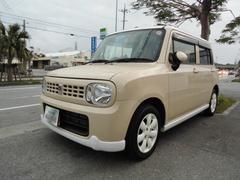 沖縄の中古車 スズキ アルトラパン 車両価格 53万円 リ済込 平成24年 9.6万K ベージュ