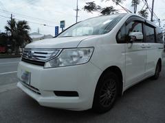 沖縄の中古車 ホンダ ステップワゴン 車両価格 79万円 リ済込 平成22年 10.6万K パール