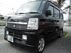 沖縄の中古車 スズキ エブリイワゴン 車両価格 54万円 リ済込 平成19年 10.7万K ブラックII