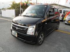 沖縄の中古車 スズキ ワゴンR 車両価格 19万円 リ済込 平成20年 9.2万K ブラックII