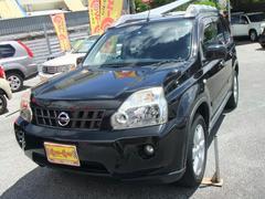 沖縄の中古車 日産 エクストレイル 車両価格 125万円 リ済別 平成20年 7.0万K ブラック