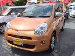 沖縄の中古車 トヨタ パッソ 車両価格 59万円 リ済別 平成24年 6.7万K オレンジM