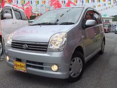 沖縄の中古車 ダイハツ ミラアヴィ 車両価格 18万円 リ済別 平成18年 9.7万K グレーM