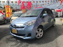 沖縄の中古車 トヨタ ラクティス 車両価格 69万円 リ済込 平成22年 6.1万K ブルー